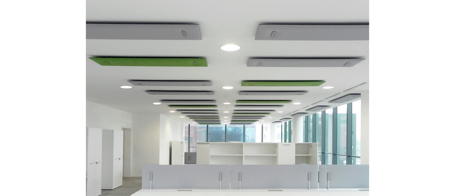 Mitesco Sound Absorbing System Ceiling Sato