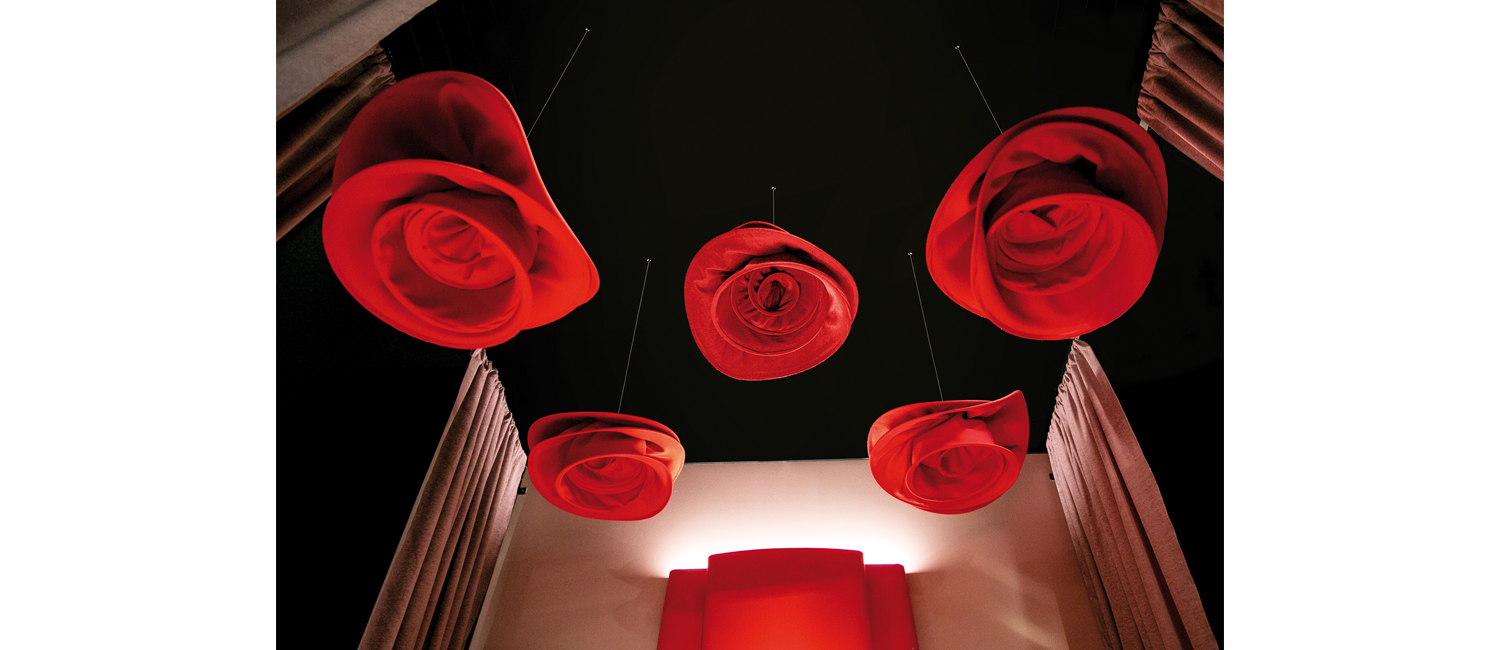 SI SBOCCIA SOUND ABSORBING CEILING SYSTEM