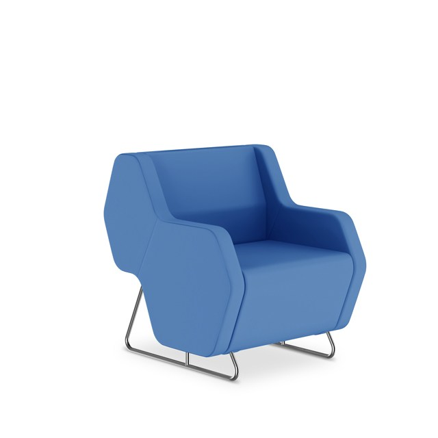 Hexa waiting chair