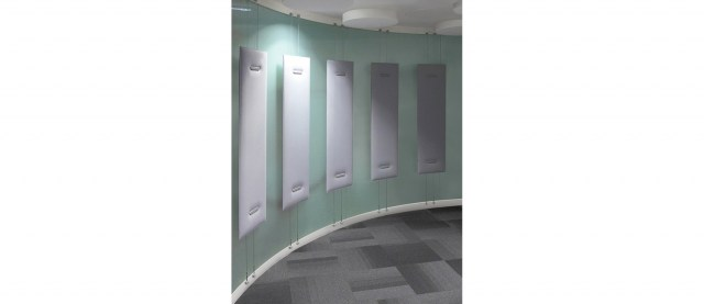 Oversize absorbing wall panels