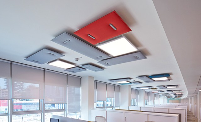 mitesco SOUND ABSORBING CEILING SYSTEM