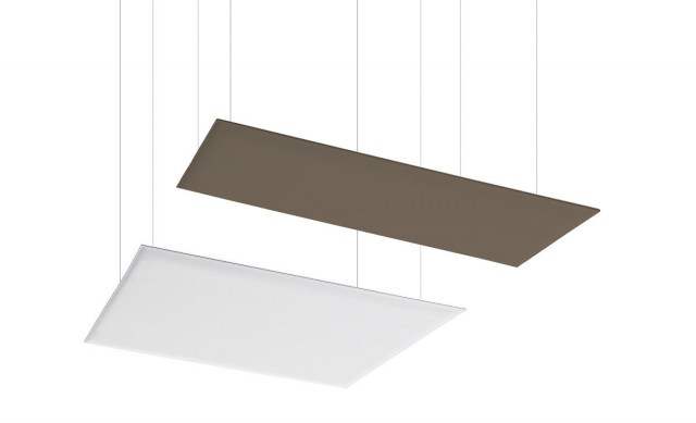 Oversize absorbing ceiling panels
