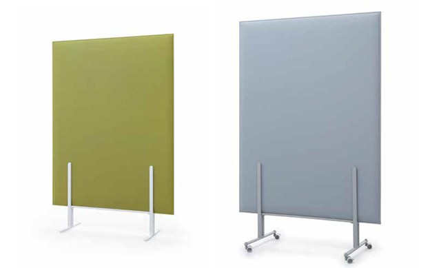 PLI Over sound absorbing panels