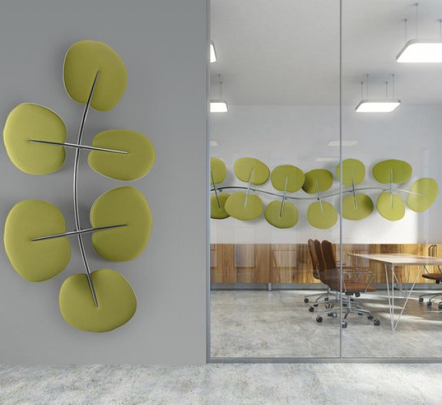BOTANICA absorbing wall panels